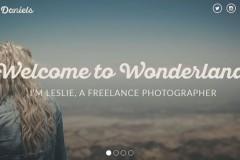 Leslie Deniels – Personal Html Portfolio Page Template