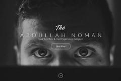 Noman – Personal Portfolio Html Page Template