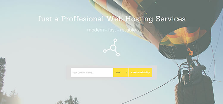 MaguwoHost – One Page Hosting Page Template