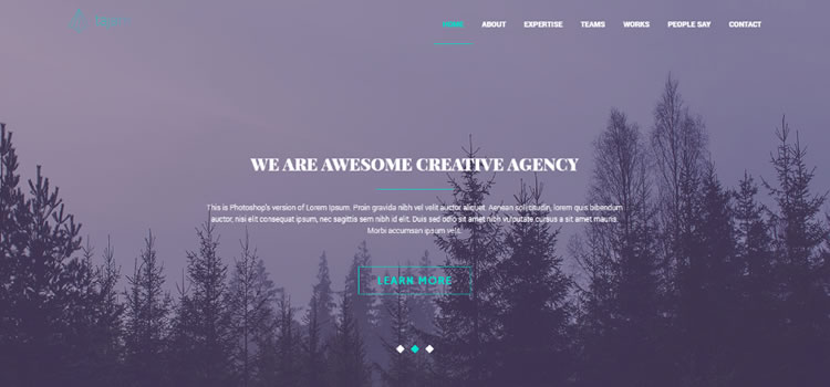 Tajam – Free HTML5 Creative Agency Portfolio Template