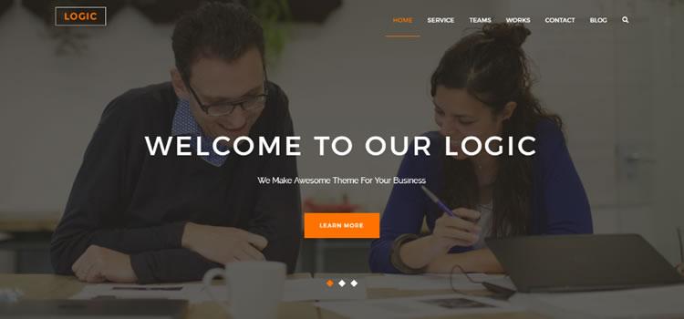 Logic – Free Html5 Multipurpose Business Template