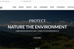 GreenFair One Page HTML5 Template