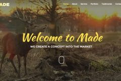 Made Design – Agency Free Bootstrap Template