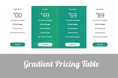 Gradient Free Bootstrap Pricing Table