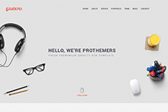 Graxpo – Creative Html Landing Page Template