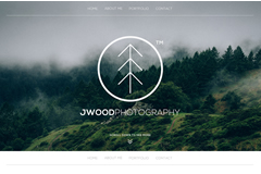 Jwood Photography – Portfolio Html Landing Page Template