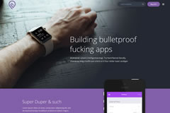 Tork – Free Mobile App Html Landing Page Template