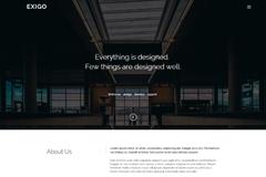 Exigo – Free HTML5 Creative Portfolio Template