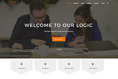 Logic – Free Multipurpose Business WordPress Theme