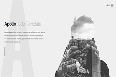 Apollo One page HTML Bootstrap template