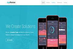 AppPonsive – Bootstrap Portfolio Landing Page
