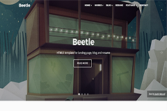 Beetle – HTML5 Bootstrap Template