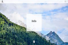 Bodo free HTML Bootstrap Personal / Portfolio template