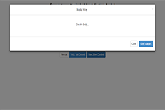 Bootstrap 3 Variable-Width Modal