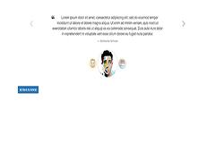 Bootstrap Testimonial Slider Example 1