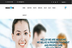 Medizone – Health Care & Medical HTML5 Bootstrap Template