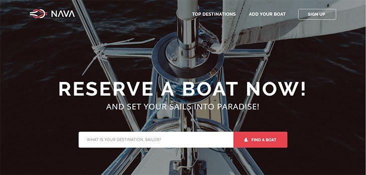 Nava – Free responsive HTML5 Bootstrap template