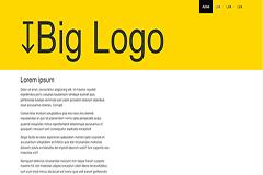 Responsive Parallax Navbar Logo – Bootstrap