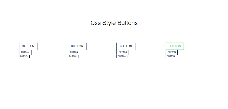 Bootstrap Style Buttons