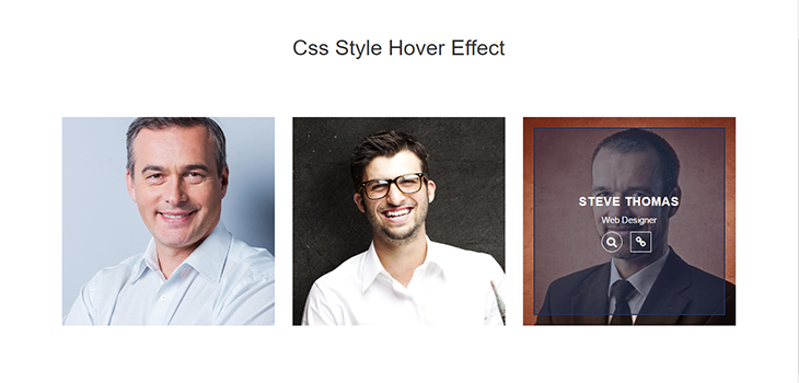Bootstrap Responsive Hover Effect | Bootstrap Themes
