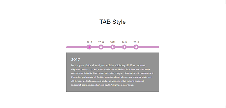 Responsive Bootstrap TAB Style