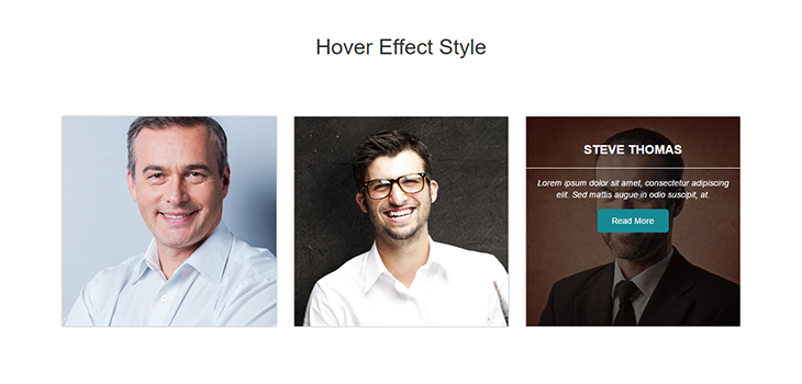 Bootstrap Fully Responsive Hover Effect