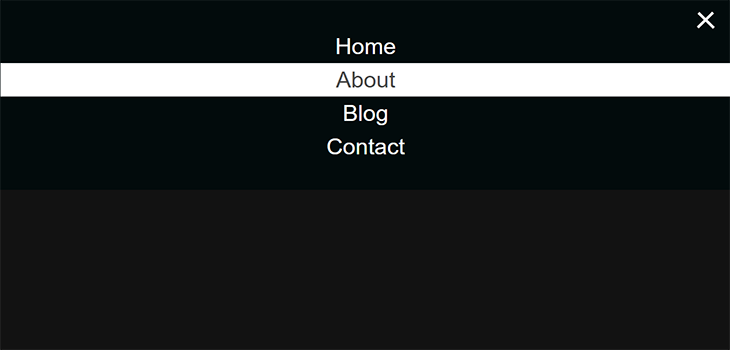 Simple Responsive Bootstrap Navigation Menu