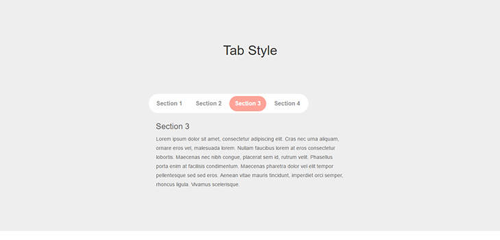 Bootstrap Responsive TAB Style