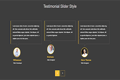 Bootstrap Responsive Testimonial Slider