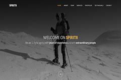 Spirit8 – Free Bootstrap HTML template