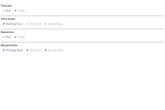 Touch Friendly Bootstrap Radio buttons and Checkboxes