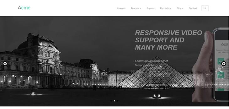 Acme – Free Responsive Corporate Template