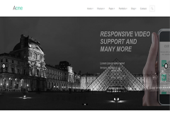 Acme – Free Responsive Corporate Template