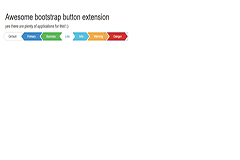 Awesome bootstrap button extension