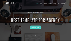 Sept – Free Bootstrap 3 Theme