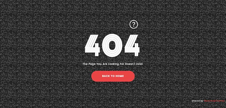 Lost – 404 Error Page