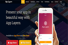 AppLayers – Free Responsive Bootstrap App Landing HTML5 Template