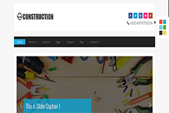 Construction – Free Construction HTML Template