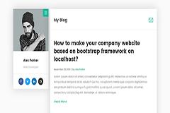 DevBlog Personal Blog Template