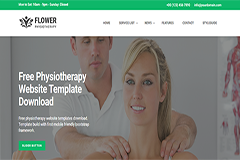 Physiotherapy Free Website Template
