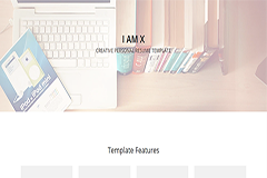 IAMX – Bootstrap HTML Resume Template