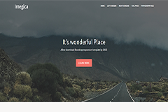 Imagica Free Bootstrap Startup Website
