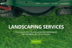 Landscaper Free Landscaping Website Template