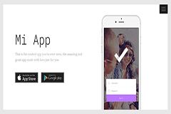 MiApp App Landing Template