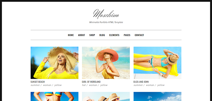 Moschino Free Bootstrap Ecommerce HTML Template