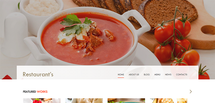 Spicy – Free Bootstrap HTML5 Template