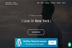 Rolling Portfolio WordPress Theme