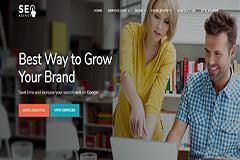 SEO Agency Marketing Responsive Website Template