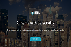 Bell – Free Multipurpose Bootstrap Template