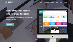 AppKit Landing – Free Bootstrap Theme